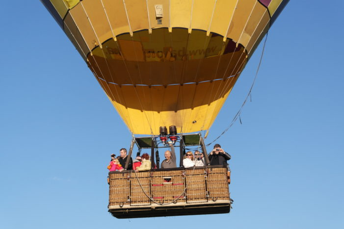 Let balonem – není se čeho bát