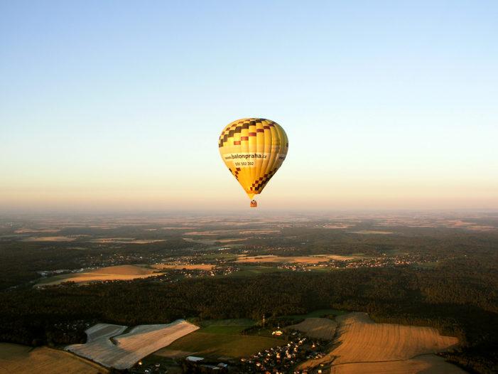 Let balonem – vyhlídkové lety balonem