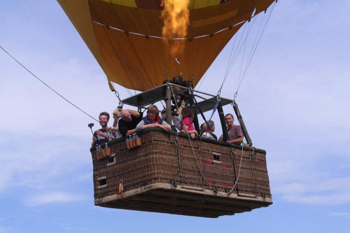 Seberte odvahu a dopřejte si let balonem
