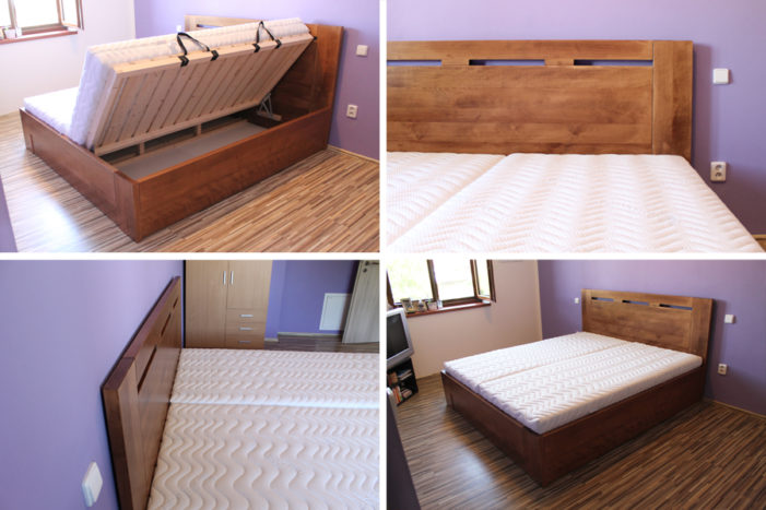 Zvolte si jednoduchost a pohodlí – zvolte si postele z masivu