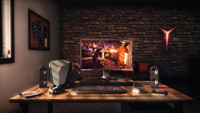 Ponořte se do světa her s počítačem Lenovo IdeaCentre Y710 Cube